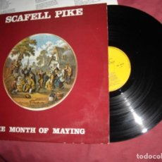 Discos de vinilo: LP SCAFELL PIKE - THE MONTH OF MAYING - ORIGINAL CON ENCARTE 1973 SWEDEN, EPIC . Lote 125273039