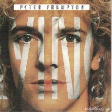 Discos de vinilo: PETER FRAMPTON - LYING / YOU KNOW SO WELL (SINGLE ALEMAN, VIRGIN 1985). Lote 125273235