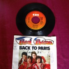 Discos de vinilo: RED BARON BACK TO PARIS SINGLE. Lote 125275075