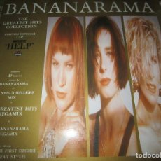 Discos de vinilo: BANANARAMA - THE GRATEST HITS COLLECTION DOBLE LP - LONDON 1989 MUY NUEVO(5) CON FUNDAS INTERIORES -. Lote 125277575