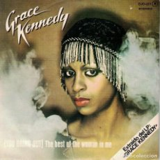 Discos de vinilo: GRACE KENNEDY - THE BEST OF THE WOMAN IN ME / COULD THIS BE LOVE (SINGLE ESPAÑOL, DJM 1979). Lote 125279723