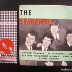 Discos de vinilo: THE SEARCHERS- CUANDO CAMINAS. EP.. Lote 125284339