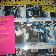 Discos de vinilo: BREAKDANCE - DANCE SCHOOL THE HOTTEST SOUND AROUND LP - ORIGINAL ALEMAN TELDEC RECORDS 1984 -. Lote 125286963