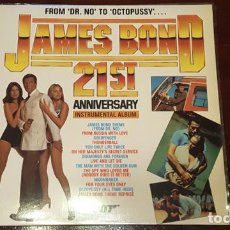 Discos de vinilo: JAMES BOND - 21 ST ANNIVERSARY - INSTRUMENTAL ALBUM OO7 - VCL RECORDS - POLYDOR - MADRID 1983-50. Lote 125287627