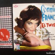 Discos de vinilo: CONNIE FRANCIS- ¡EL TWIST! EP. Lote 125290327