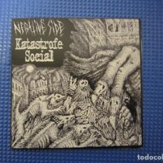 Discos de vinilo: EP - METALCORE / PUNK - KATASTROFE SOCIAL (NEGATIVE SIDE) - IMPORTACIÓN BRASIL. Lote 125291643