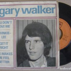 Discos de vinilo: GARY WALKER - YOU DON´T LOVE ME - EP 1966 - CBS. Lote 125297987