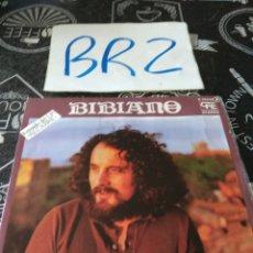 Discos de vinilo: BIBIANO OPINIÓN. Lote 125299159