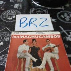 Discos de vinilo: VERSIÓN FRANCESA LES MACHUCAMBOS DECCA. Lote 125302582