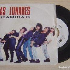Discos de vinilo: LOS LUNARES - VITAMINA B - SINGLE PROMOCIONAL 1991 - RNE. Lote 125302919