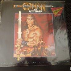 Discos de vinilo: L.P. - CONAN THE DESTROYER LP BANDA SONORA MUSICA BASIL POLEDOURIS MCA GERMANY. Lote 125305560