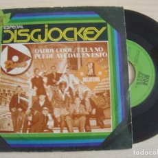 Discos de vinilo: DARTS - DADDY COOL/THE GIRL CAN´T HELP IT + SHOTGUN - SINGLE 1978 - REFLEJO. Lote 125311159