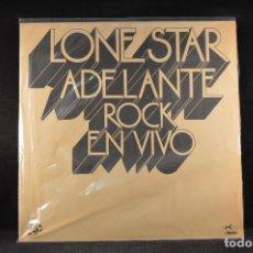 Discos de vinilo: LONE STAR - ADELANTE ROCK EN VIVO - LP . Lote 125319539
