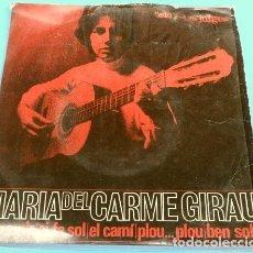 Discos de vinilo: MARIA DEL CARME GIRAU (EP. 1964) BON AMIC - ELS SETZE JUTGES - NOVA CANÇO - MANUEL CUBEDO. Lote 125322055