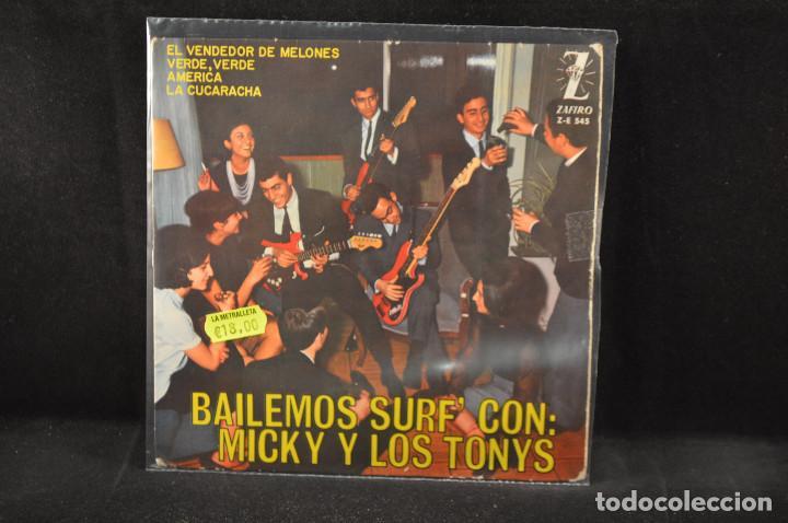 MICKY Y LOS TONYS - VERDE VERDE +3 - EP (Música - Discos de Vinilo - EPs - Grupos Españoles 50 y 60)