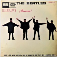 Discos de vinilo: THE BEATLES - HELP / YOU´RE GOING TO LOSE THAT GIRL SG EP ED. ESPAÑOLA 1965. Lote 125324231