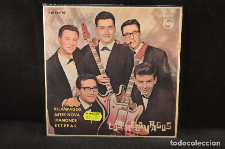LOS RELAMPAGOS - RELAMPAGOS +3 - EP (Música - Discos de Vinilo - EPs - Grupos Españoles 50 y 60)