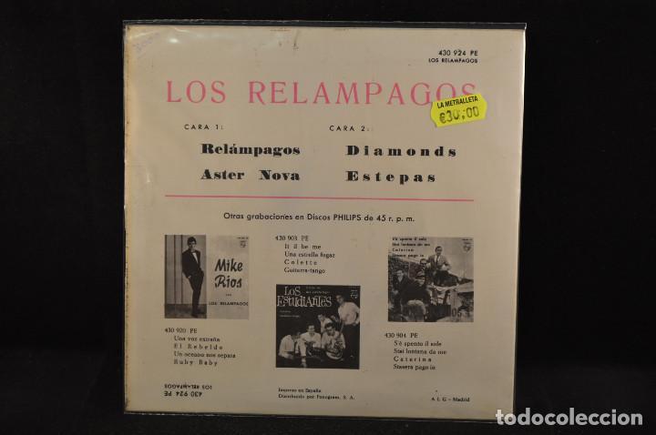 Discos de vinilo: LOS RELAMPAGOS - RELAMPAGOS +3 - EP - Foto 2 - 125324611