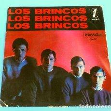 Discos de vinilo: LOS BRINCOS (EP. 1964) FLAMENCO - NILA - ES COMO UN SUEÑO. Lote 125326003
