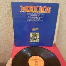 Discos de vinilo: DISCO DE VINILO LP MODULOS 1979 MERCURIO ALBUM CUANDO EL TREN SE DETUVO EN LA ESTACION. Lote 125339707