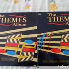 Discos de vinilo: TER THE THEMES ALBUM PELICULAS B.S.O VINILOS 2LPS VOL. 1Y 2 VG+ '80. Lote 125372479