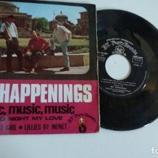 Discos de vinilo: EP-THE HAPPENINGS-MUSIC,MUSIC,MUSIC-1968-SPAIN-. Lote 125384019