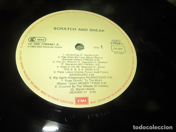 Discos de vinilo: BOYTRONIC - SCRATCH & BREAK LP - ORIGINAL ALEMAN - EMI RECORDS 1983 - MUY NUEVO (5). - Foto 11 - 125388515