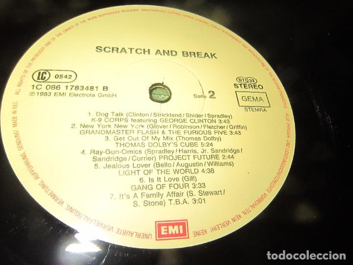 Discos de vinilo: BOYTRONIC - SCRATCH & BREAK LP - ORIGINAL ALEMAN - EMI RECORDS 1983 - MUY NUEVO (5). - Foto 14 - 125388515