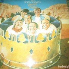 Discos de vinilo: THE KING´S SINGERS - TEMPUS FUGIT LP - ORIGINAL INGLES - EMI RECORDS 1978 - STEREO -. Lote 125391323