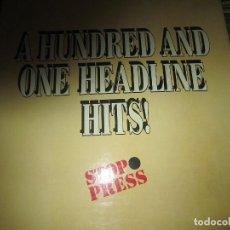 Discos de vinilo: A HUNDRED AND ONE HEADLINE HITS CAJA DE 6 LP´S - ORIGINAL INGLES - WORLD RECORDS AÑOS 70 -. Lote 125398107