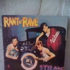 Discos de vinilo: STRAY CATS ?– RANT N' RAVE. ROCKABILLY. Lote 125398883