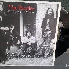 Discos de vinilo: THE BEATLES-GET BACK-EDICION INGLESA-APPLE R5777-MUY BUEN ESTADO-1969. Lote 125400635