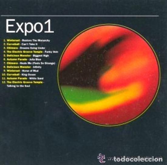 EXPO 1 - WINTERSET, CURVEBALL, CHIMERA - LP BEECHWOOD MUSIC 1992 (Música - Discos - LP Vinilo - Electrónica, Avantgarde y Experimental)