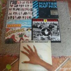 Discos de vinilo: LOTE 5 LP DE MUSICA RAP-HIP HOP. Lote 125411471