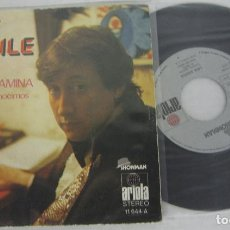 Discos de vinilo: LUIS AGUILE - CAMINA CAMINA + CUANDO NOS CONOCIMOS - SINGLE - SHOWMA / ARIOLA 1973 SPAIN. Lote 125414759