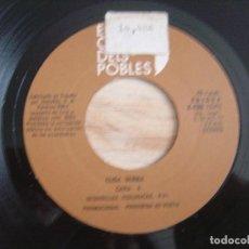 Discos de vinilo: ELISA SERNA - SEGUIDILLAS ECOLOGICAS + CANCION DEL SECRETO + JOTA COMUNERA - SINGLE PROMOCIONAL 1979. Lote 125415619