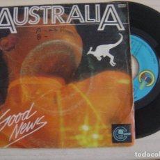 Discos de vinilo: GOOD NEWS - AUSTRALIA - SINGLE ESPAÑOL 1979 - CARNABY. Lote 125421751