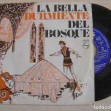 Discos de vinilo: LA BELLA DURMIENTE - SINGLE PROMOCIONAL 1969 - PHILIPS. Lote 125422003