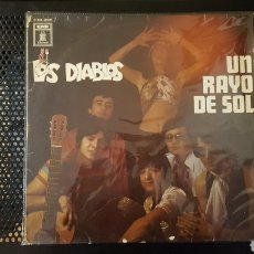 Discos de vinilo: L.P. - LOS DIABLOS - UN RAYO DE SOL - EMI - MADE IN GERMANY - RARO. Lote 125425947