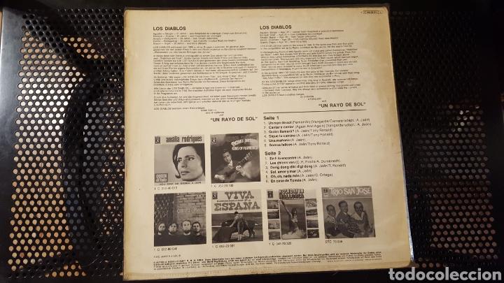 Discos de vinilo: L.P. - Los Diablos - UN RAYO DE SOL - EMI - MADE IN GERMANY - RARO - Foto 2 - 125425947