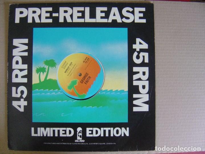 GEORGE FAITH - MIDNIGHT HOUR / DIANA - MAXI SINGLE EDICION LIMITADA UK 1977 - ISLAND - LEE PERRY (Música - Discos de Vinilo - Maxi Singles - Reggae - Ska)
