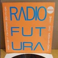 Discos de vinilo: RADIO FUTURA / EDICIÓN ESPECIAL LIMITADA / MAXI SG - ARIOLA - 1985 / MBC. ***/*** ALGO DE USO.. Lote 125426895