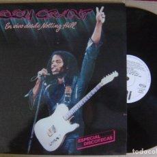 Discos de vinilo: EDDY GRANT - EN VIVO DESDE NOTTING HILL - LP PROMOCIONAL 1982 - ICE. Lote 125427731