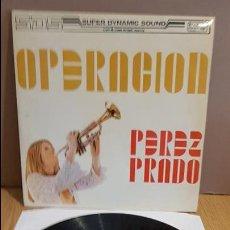 Discos de vinilo: OPERACIÓN PEREZ PRADO / LP - KING RECORDS - 1970 / MBC. ***/*** SUPER DINAMIC SOUND.. Lote 125428611