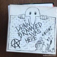 Discos de vinilo: DRAIN BRAMAGED - DRAIN BRAMAGED WAS HERE - EP LETHAL 1994. Lote 125429979