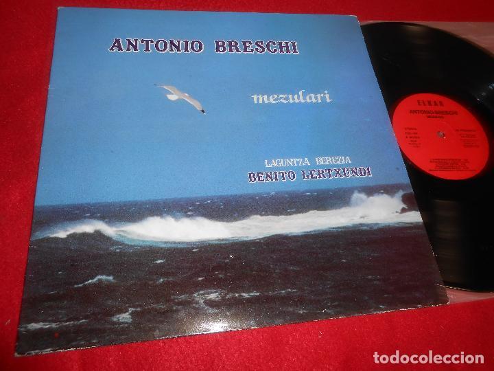 ANTONIO BRESCHI&BENITO LERTXUNDI MEZULARI LP 1985 ELKAR EUSKERA GATEFOLD (Música - Discos - LP Vinilo - Solistas Españoles de los 70 a la actualidad)