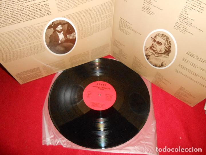 Discos de vinilo: ANTONIO BRESCHI&BENITO LERTXUNDI Mezulari LP 1985 Elkar EUSKERA GATEFOLD - Foto 2 - 125430831