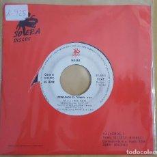 Discos de vinilo: SINGLE / ISAIAS / PERDIENDO EL TIEMPO / PERDIENDO EL TIEMPO / SOLERA SOL-80635 / 1993 / ESP / PROMO. Lote 125431907