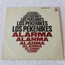 Discos de vinilo: LOS PEKENIKES: ALARMA. - LP. HISPAVOX 1969 (CON ENCARTE). HH 11-165. Lote 125443999