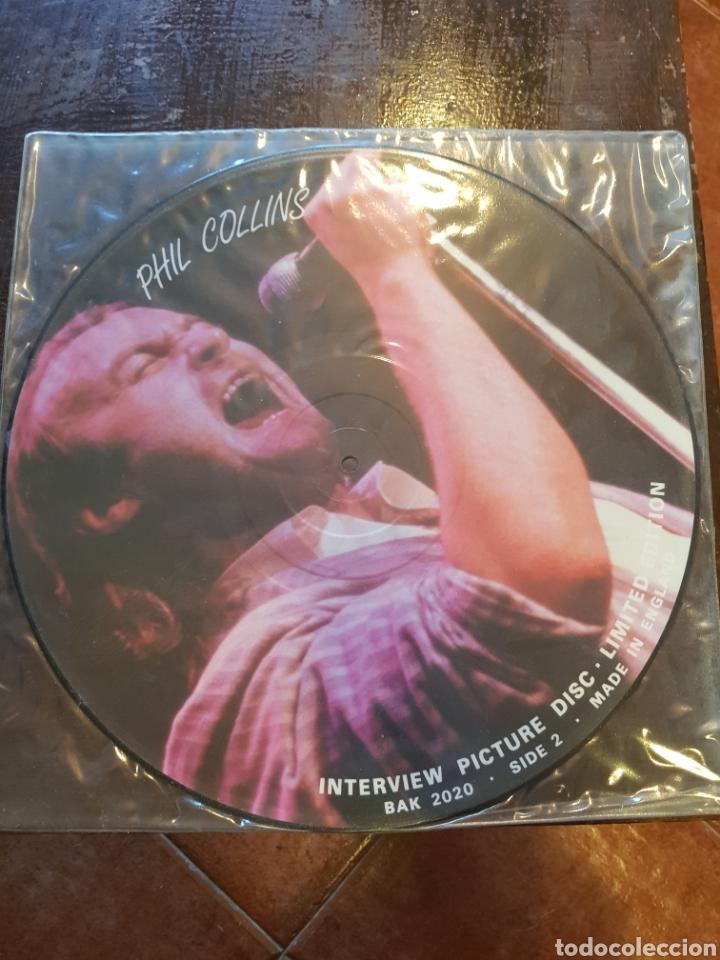 Discos de vinilo: Phil Collins. Interview picture disc. LP. - Foto 2 - 125623826